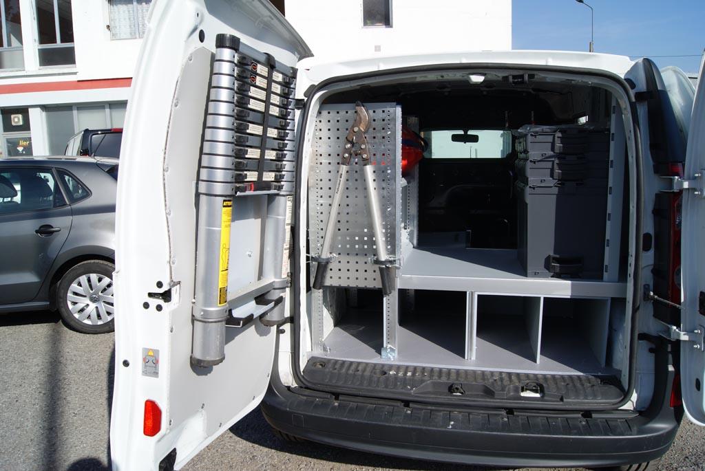 Amenagement Vehicule Pour Chien aménagements divers de véhicules - spac vul - carrossier aménageur